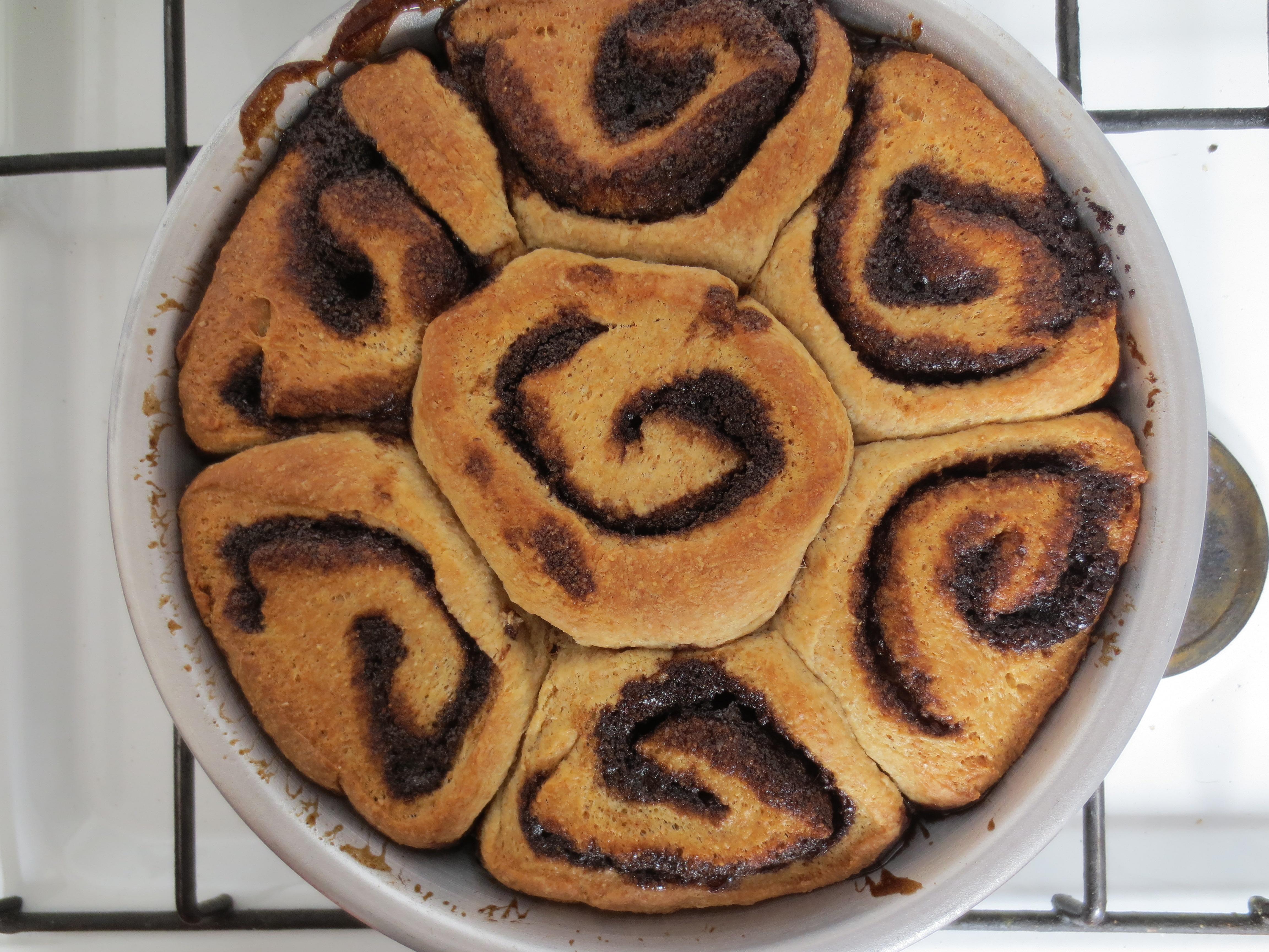 Whole Wheat Cinnamon Sticky Buns Recipes — Dishmaps